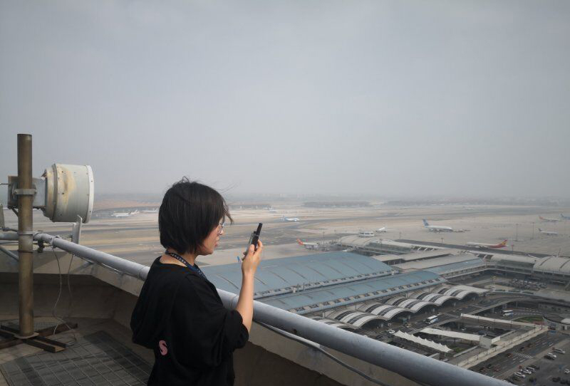 Interconexión entre Beijing-Daxing-International-Airport-and-Capital-Airport-Digital-Trunking-Communication-System